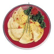 Old Fashioned Kitchen Potato and Cheese Pierogie, 4 Pound -- 4 bags per case.