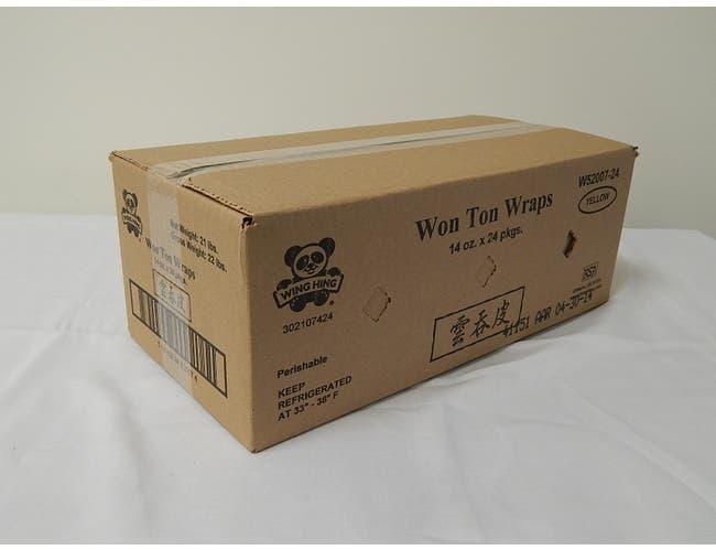 Wing Hing Wonton Wrap, 14 Ounce -- 24 per case.