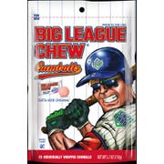Big League Chew Gumball Gusset Bag, 25 count per pack -- 12 per case.