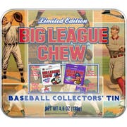 Big League Chew Original and Grape Pouch and Gumball -- 1 each.