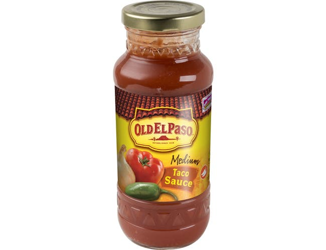 Old El Paso Medium Taco Sauce, 16 Ounce -- 12 per case