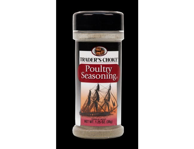 Traders Choice Poultry Seasoning - 1.25 oz. jar, 12 per case