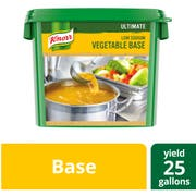 Knorr Professional Ultimate Low Sodium Gluten Free Vegetable Base, 5 pound -- 4 per case