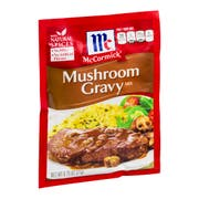 Mccormick Seasoning Mushroom Gravy Mix, 0.75 Ounce -- 12 per case.