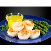 Frozen Seafood Premium 10 to 20 Count Dry Sea Scallops, 5 Pound -- 2 per case.