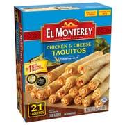 El Monterey Chicken and Cheese Flour Taquitos , 1.31 Pound -- 5 per case.