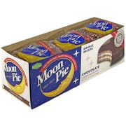 Double Decker Chocolate MoonPie - 9 count per pack -- 9 packs per case.