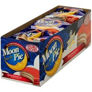 Double Decker Strawberry MoonPie - 9 count per pack -- 9 packs per case.