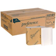 Georgia Pacific Professional Singlefold Interfolded Bathroom Tissue, White, 400 Sheet/Box, 60/Carton