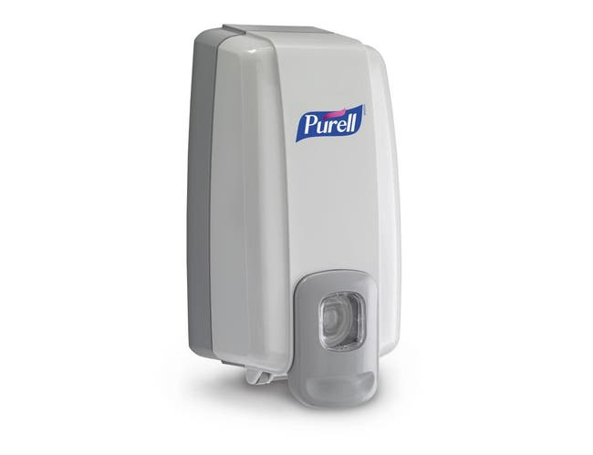 9.75X13.75 Purell Space Savers Dispenser -- 6 count.