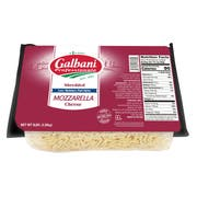 Sorrento Low Moisture Part Skim Whole Milk Regular Shredded Mozzarella Cheese, 5 Pound -- 6 per case.