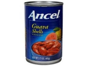 Goya Ancel Guava Shells, 17 Ounce -- 24 per case.