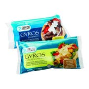 Grecian Delight Precooked Gyro Chicken Sandwich -- 12 per case.