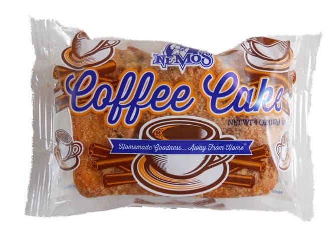 Ne-Mos Coffee Cake, 4 Ounce -- 12 per case.