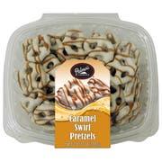 Palmer Caramel Swirl Pretzel Candy -- 8 per case.