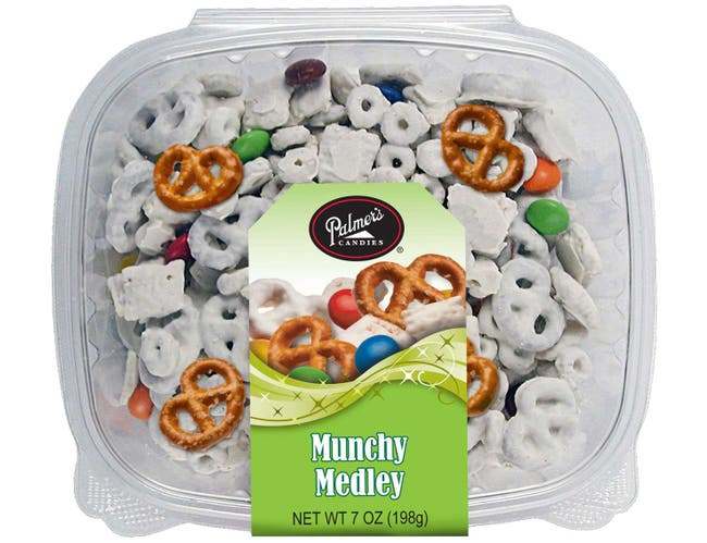 Palmers Munchy Medley Snacks, 7 Ounce -- 16 per case.