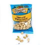 Golden Recipe Natural Pistachios, 2 Ounce -- 8 per case.