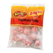 2 for $1.50 Peppermint Twist Hard Candy, 2.85 Ounce -- 12 per case.