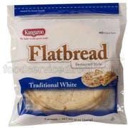 Kangaroo White Greek Pita - Flatbread, 2.6 Ounce -- 60 per case.