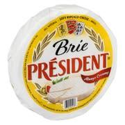 President Precious Plain X4 Brie Cheese, 2 Pound -- 4 per case.