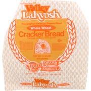Valley Lahvosh Cracked Wheat Round Cracker Bread, 15 inch -- 7 per case.