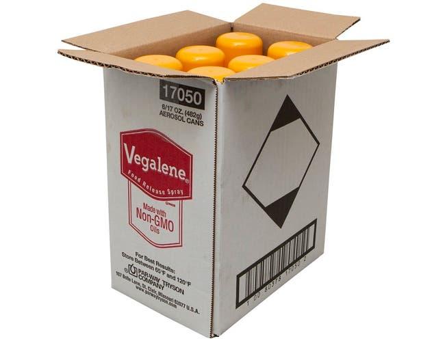 Vegalene Non GMO Food Release Spray, 17 Ounce -- 1 each.