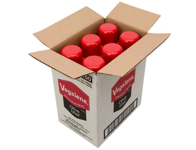Vegalene Olive Mist Seasoning and Pan Spray, 17 Ounce -- 6 per case.