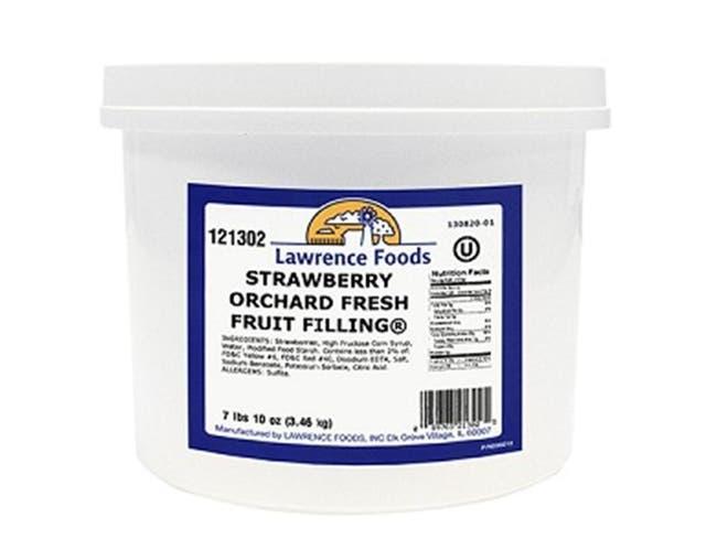 Strawberry Filling 4 Case .75 Gallon