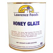 Lawrence Foods Honey Glaze, 8 Pound -- 6 per case