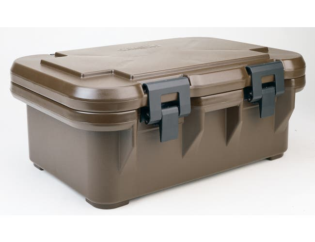 Cambro Ultra Pan Carrier, Dark Brown, 20 Quart -- 1 each.