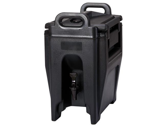 Cambro Ultra Camtainer, Black, 2.5 Gallon -- 1 each.