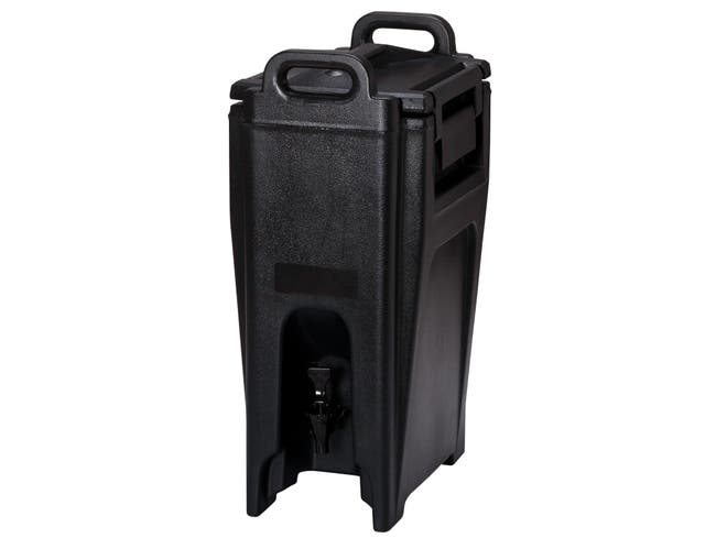 Ultra Camtainer Insulated Beverage Carrier, Black, 5 Gallon -- 1 each.