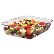 Cambro Deli Crock, Clear, 5.5 x 5.5 Quart -- 6 per case.