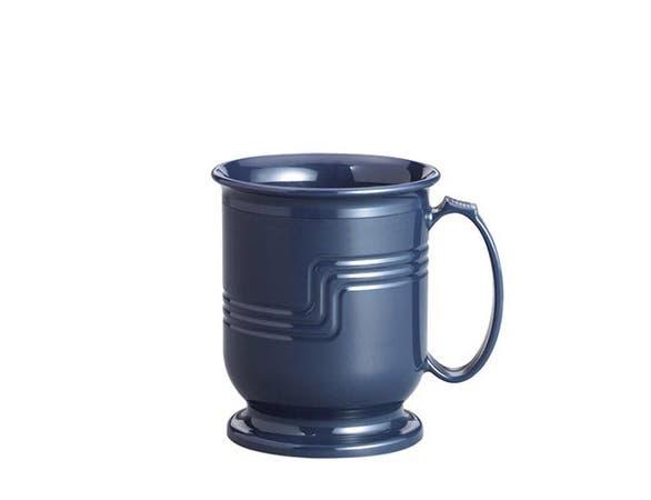 Cambro Shoreline Collection Mug, Navy Blue, 8 Ounce -- 48 per case.