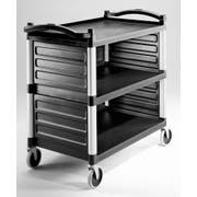 Cambro Single Shelf Panel Set Only, Black, 31 5/8 x 17 3/4 x 11 3/4 inch -- 1 each.