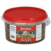Savor Brands Pitted Mediterranean Mix Seasoned Olive, 4.4 Pound -- 2 per case.