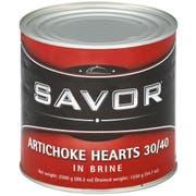 Savor Imports 30-40 Count Artichoke Hearts, 3 Kilogram -- 6 per case.