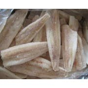 Frozen Seafood Skinless Pangasius Whiting Fillet - 4 to 6 Ounce, 10 Pound -- 4 per case.