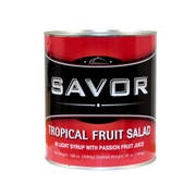 Savor Imports Tropical Fruit Salad in Light Syrup,  109 ounce -- 6 per case.