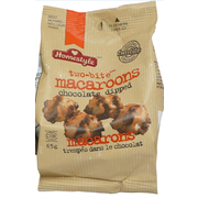 Two Bite Chocolate Dipped Macaroon Snack Pack, 0.143 Pound -- 40 per case.