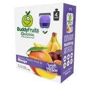 Buddy Fruits Originals Banana Passion and Mango Fruit Blend, 12.8 Ounce -- 6 per case.