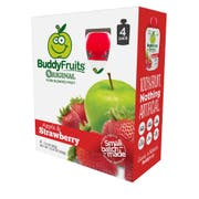 Buddy Fruits Originals Apple and Strawberry Fruit Blend, 12.8 Ounce -- 6 per case.