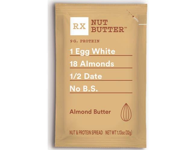 Rx Almond Nut Butter, 32 Gram -- 60 per case.