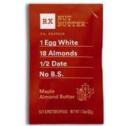 Rx Maple Almond Nut Butter, 32 Gram -- 60 per case.