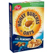 Kraft Honey Bunches of Oat Cereal, 14.5 Ounce -- 12 per case.