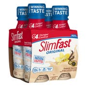 SlimFast Creamy Vanilla Drink Meal Replacement Shake, 11 Fluid Ounce -- 12 per case.