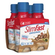 SlimFast Cappucino Delight Meal Replacement Shake, 11 Ounce -- 12 per case.