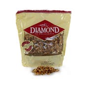 Diamond Walnuts, Halve and Pieces Combo, 2 Pound Visibility Bag -- 3 per case.