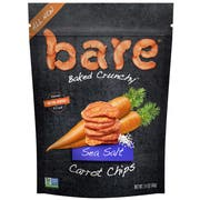 Bare Natural Sea Salt Carrot Chips, 1.4 Ounce -- 8 per case.