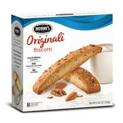 Nonnis Original Biscotti Cookie, 8 per pack -- 12 packs per case.